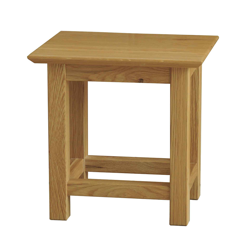 39 sherwood oak 39 small side table realwoods