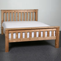 The Hardwick Solid Pine Bed