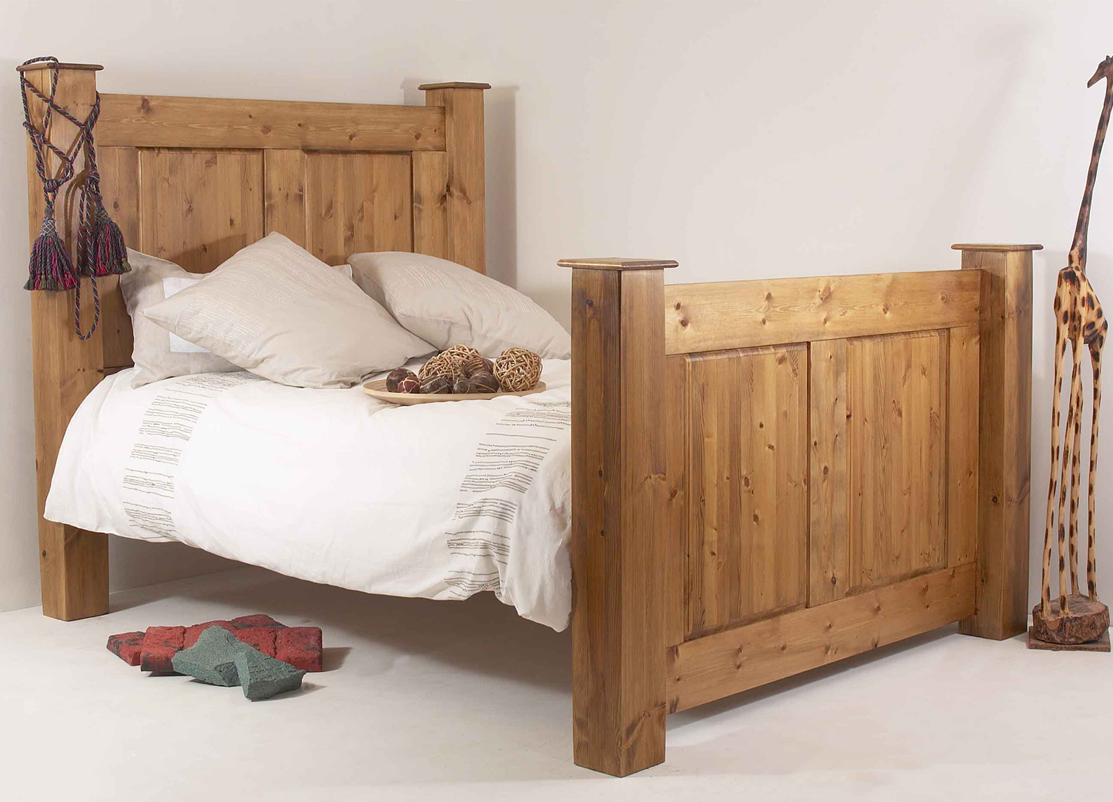 Regency Bedroom Furniture Realwoods Solid Pine Bed The Regency Double Super King