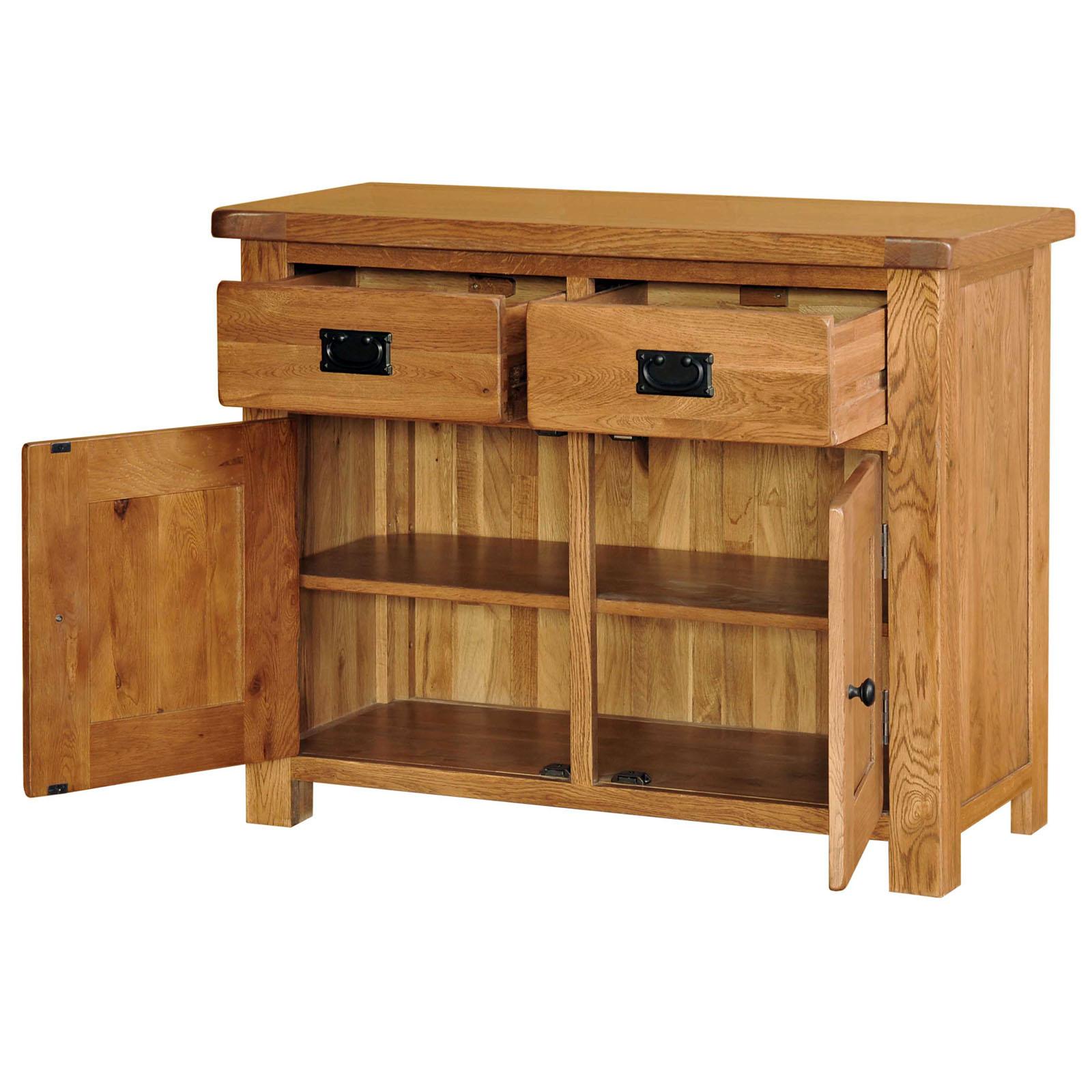 39 country oak 39 3ft wide sideboard dresser base realwoods for Sideboard real